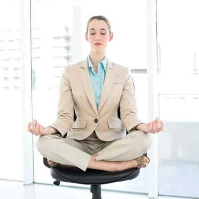 Office Chair yoga